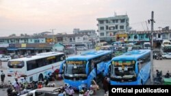 Mandalay's Chanmyashwepyi Bus Terminal to be upgraded -Global New Light Of Myanmar