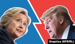 Hillari Klinton - Donald Tramp