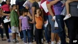 中美洲兒童非法進入美國(六月二十日資料照片)