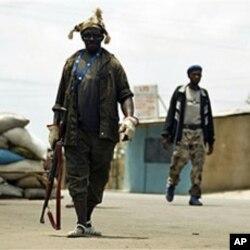 Mayakan sa kai a birnin Abidjan wanda ya zama fagen daga a 'yan kwanakin nan .