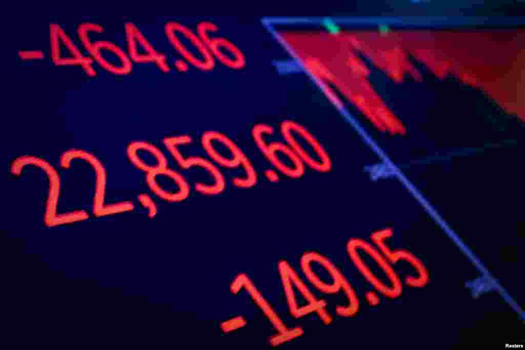بازار بورس ایالات متحده در هفته اخیر شاهد سقوط بی سابقه ای بود. برخی شاخص ها به اندازه زمان «رکود بزرگ» در دهه ۱۹۳۰ سقوط کردند. اختلاف آمریکا با چین، تنش آمریکا با اروپا بر سر مسائل تجاری و مسائل سیاسی اخیر در آمریکا بر این وضعیت تاثیر داشته است.