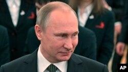 Tổng thống Nga Vladimir Putin. (Ảnh tư liệu)