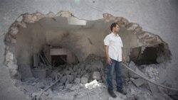 حمله نیروهای قذافی به مخازن سوخت مخالفان