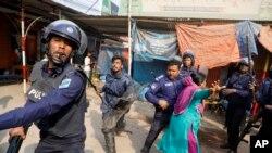 Dîmeneke ji xwepêşandanên li Bangladeşê ( Arşîv)