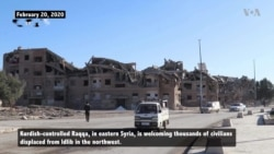 Former IS Capital Raqqa Now Shelters Thousands of Syrians Fleeing Idlib Assault
