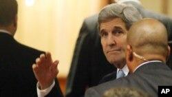 ລັດຖະມົນຕີຕ່າງປະເທດ ສະຫະລັດ ທ່ານ John Kerry ຕຽມ ພ້ອມເຂົ້າຮ່ວມ ສົນທະນາຮອບສອງກ່ຽວກັບ ຊີເຣຍ.
