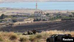 敘利亞和以色列停火線上一個由聯合國管理的過境點
