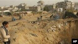 تبادلۀ آتش میان اسرائیل و فلسطینیان