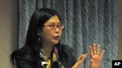 赖幸媛在立法院说明第六次江陈会进程