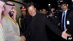 سعودی ولی عہد بھارت سے پہلے پاکستان کے دو روزہ دورے پر آئے تھے۔