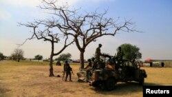 Binh sĩ Nam Sudan ở Malakai, thị trấn nằm cách thủ đô Juba 497 km về hướng đông bắc