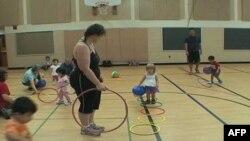 Amerika'da Çocuklar İçin Egzersiz Programları Yaygınlaşıyor