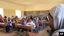 Une école à Douentza, au Mali, le 27 septembre 2012.