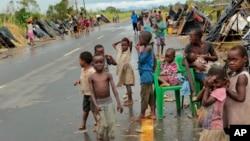Beyra yakınları, Mozambik, 22 Mart 2019.