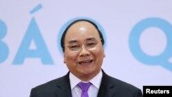 Perdana Menteri Vietnam Nguyen Xuan Phuc di Hanoi, 26 Oktober 2016. (Foto: dok).