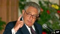 Cựu Ngoại Trưởng Hoa Kỳ Henry Kissinger.