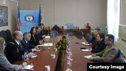 Američka delegacija u Ministarstvu odbrane BiH