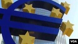 El BCE pronostica un escaso crecimiento en la economía de la zona euro.