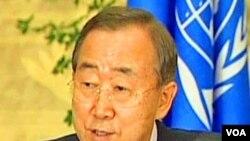 Sekjen PBB Ban Ki-moon
