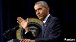 ປ. Barack Obama ກ່າວຄຳປາໄສ ຢູ່ກອງປະຊຸມສຸດຍອດ My Brother's Keeper ທີ່ທຳນຽບຂາວ.