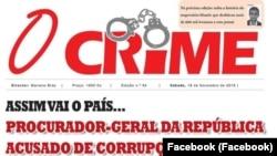 "Jornal ""O Crime"", Angola"