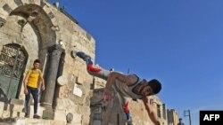 Ciwaneke Sûrî yê li Helebê (Arşîv)