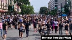 Fotoğraflarla Washington'daki Irkçılık Karşıtı Protestolar