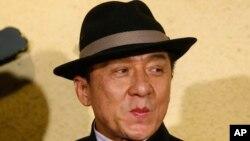 جکی چن، ستارۀ مشهور سینما