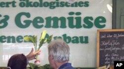야채 구입에 불안해 하는 독일인들