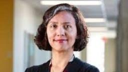 Pakistani neuroscientist Nadia Chaudhri is seen in this undated photo from Twitter.