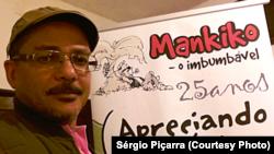 Sérgio Piçarra, cartoonista angolano