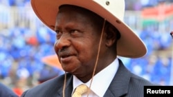Shugaban Uganda Yoweri Museveni