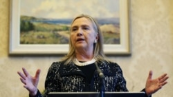 Clinton Recovering From Blood Clot In Her Head