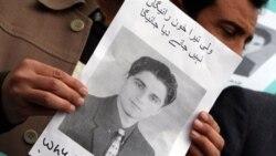 خبرنگاران پاکستانی برای به کشته شدن «ولی خان» تصویری ازاو را در دست گرفته اند