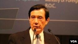 前台灣總統馬英九(資料圖片)