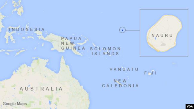 AustraliaUS Refugee Swap Again In Doubt As Officials Exit Nauru - Australia us map