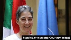 Marta Ruedas, la coordinatrice humanitaire de l'ONU au Soudan, 2017. (http://sd.one.un.org)