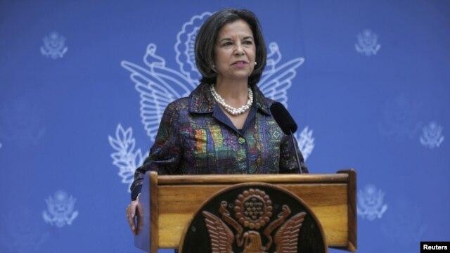 María Otero,subsecretaria de Seguridad Ciudadana, Democracia y Derechos Humanos de Estados Unidos  expresó preocupación por los límites a la prensa en algunos países de Latinoamérica.
