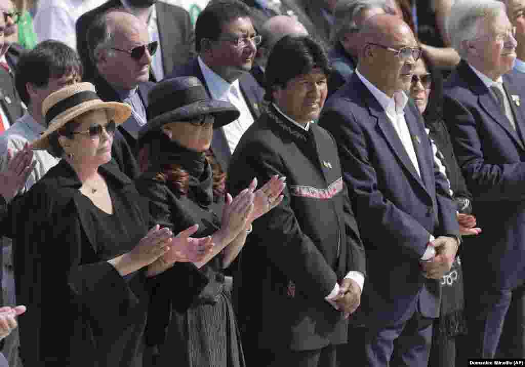 Presidentes de vários países vão à missa do Papa Francisco