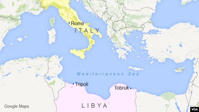 The reference frame italys attitude to migration is totally insane a map with italy and libya gumiabroncs Images