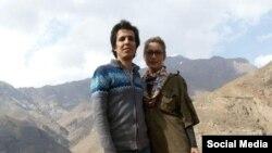 ساناز الهیاری و همسرش، امیرحسین محمدی فرد، از اعضای نشریه گام