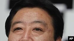 被確認為日本五年來的第六任首相的野田佳彥