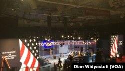 Aula debat di Washington University, St. Louis, Missouri