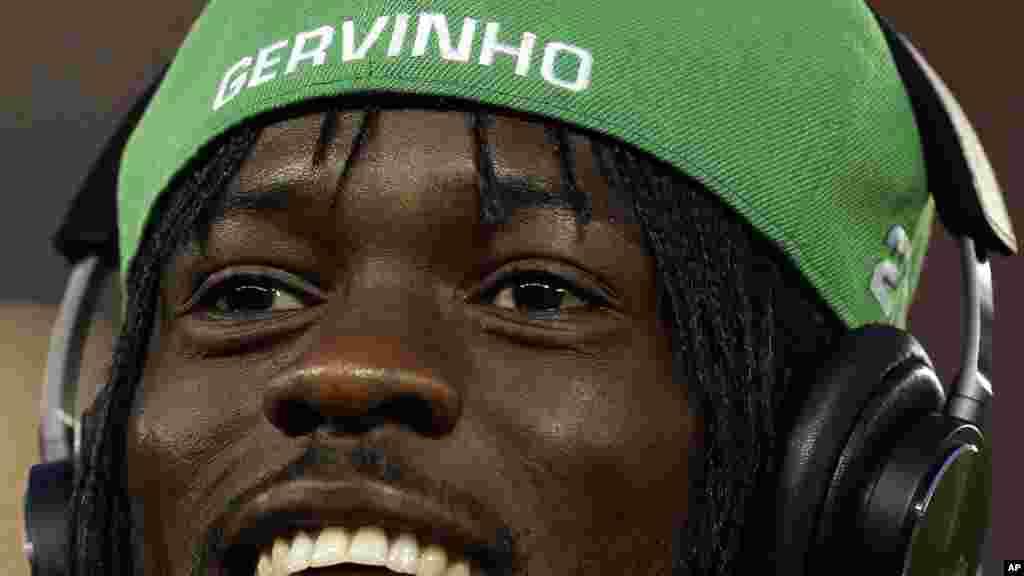 Gervinho, um dos craques da Costa do Marfim