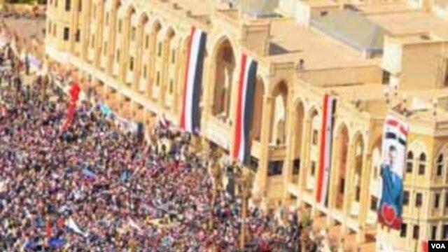 Aspirasi demokrasi rakyat Suriah dan sanksi dunia internasional mulai membuahkan hasil yang dikehendaki (foto: dok).