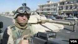 Premye Tank Blende Ameriken Rive Nan Afganistan