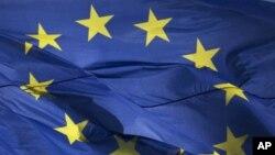 歐洲聯盟旗幟。