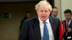 """Британський міністр закордонних справ Борис Джонсон назвав Росію """"злісною і руйнівною силою"""""""