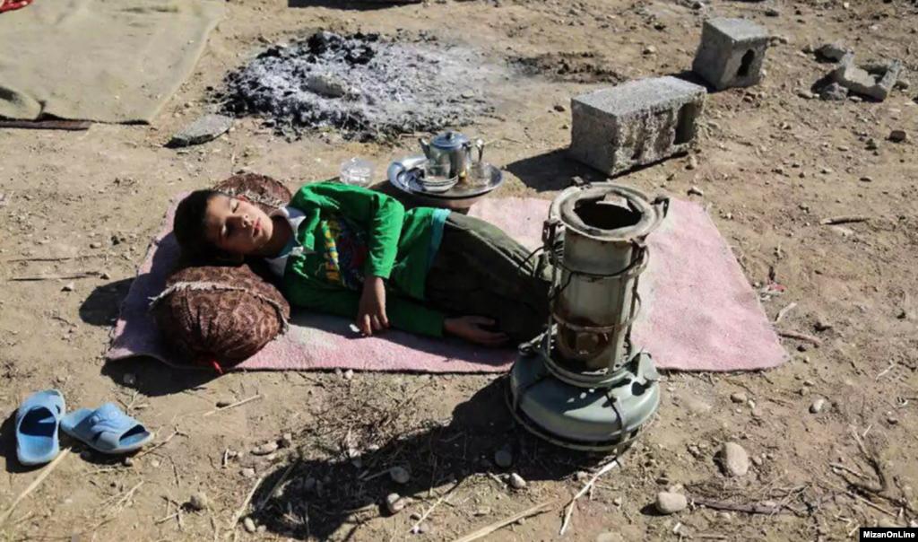 خسارات زلزله در روستاهای سرپل ذهاب عکس: حسن شیروانی