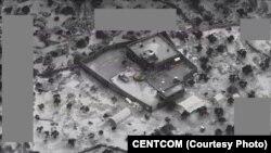 یکی از تصاویری که از عملیات حمله آمریکا به مخفیگاه ابوبکر البغدادی رهبر داعش منتشر شده است.